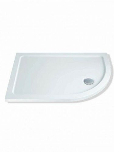 MX DUCASTONE 45 1000X800 OFFSET QUADRANT SHOWER TRAY RIGHT HAND INCLUDING WASTE